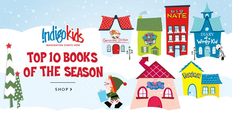 Kids' Holiday Book Shop || Book recommendations for kids of all ages
