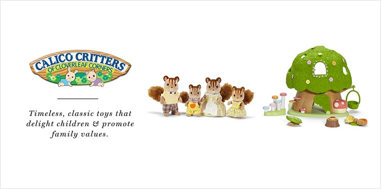 Calico Critters | Timeless, classic toys that delight children & promote family values.