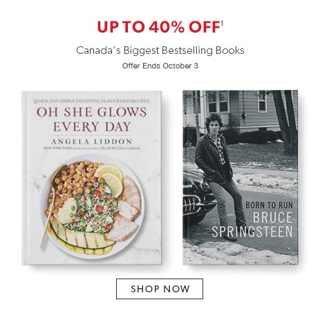 Shop bestselling books now - Offer ends October 3, 2016.