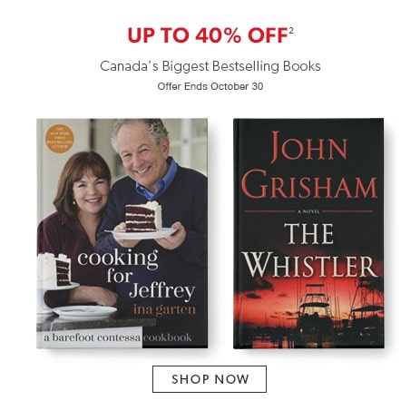 shop Canada's biggest bestselling books