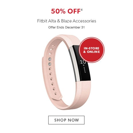 shop Fitbit Alta and Blaze accessories. Offer ends November 20, 2016