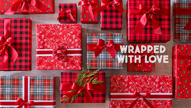 wrapped with love - shop wrapping paper