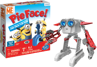 Top ten toys of the season! Pieface the game and Meccano Micronoid - Red Socket
