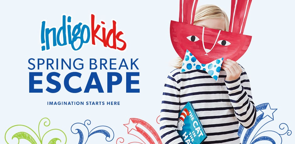 Indigokids: Spring Break Escape. Imagination starts here.