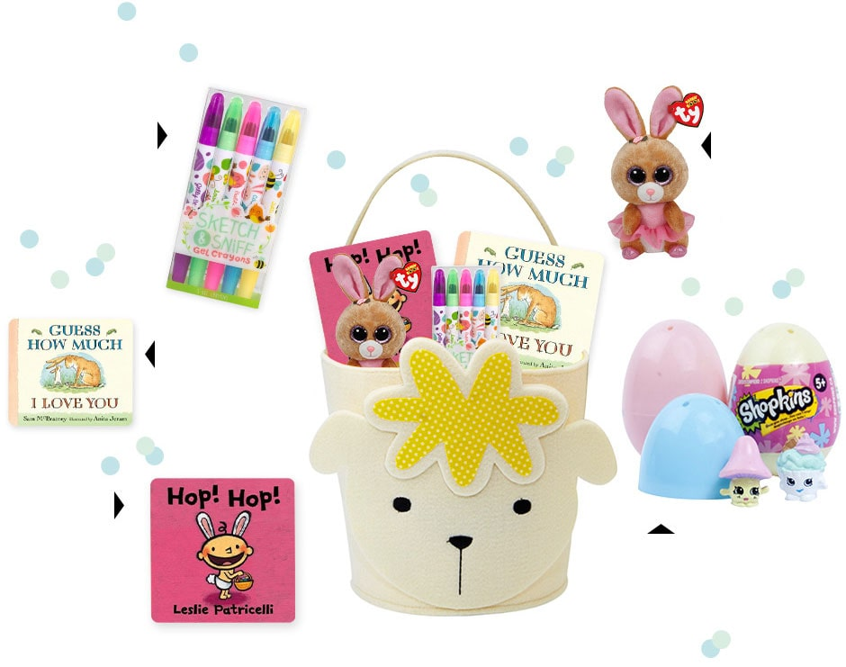 Put all their Easter gifts in one adorable basket. Shop now.