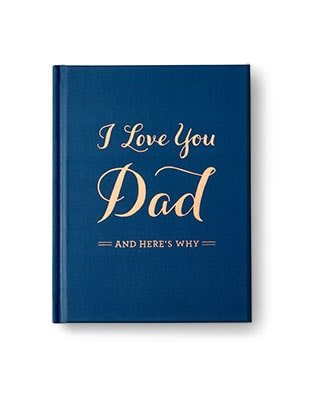 I love you dad journal
