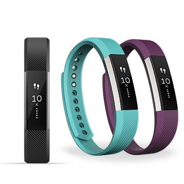 fitbit alta in several colours