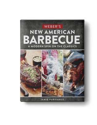 Webers New American BBQ Barbeque cookbook