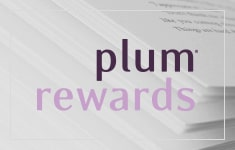 Join plum® rewards for FREE today  and enjoy 250 bonus plum points!