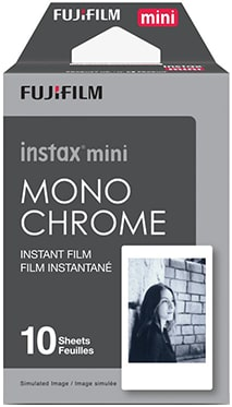 Monochrome film for Instax Mini