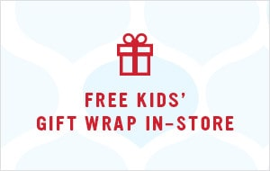 Free Kids' Gift Wrap In-store