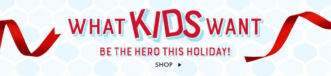 Kids' Holiday Gift Shop