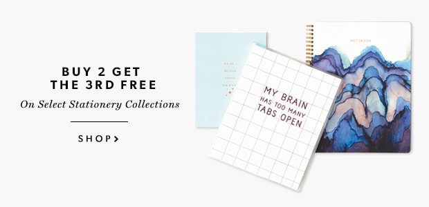 Buy 2 Get 3rd Free Select Stationery