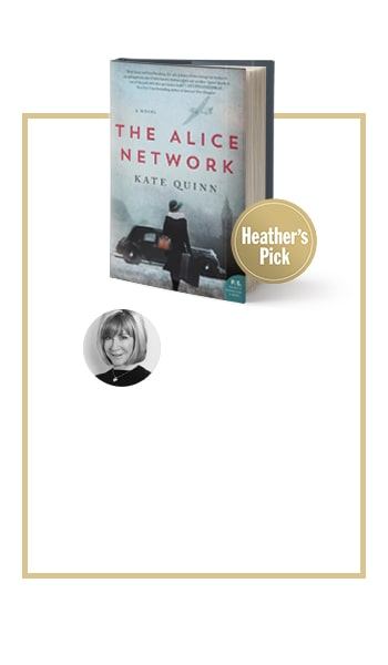 Heathers Picks The Alice Network