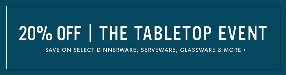 20% off Tabletop