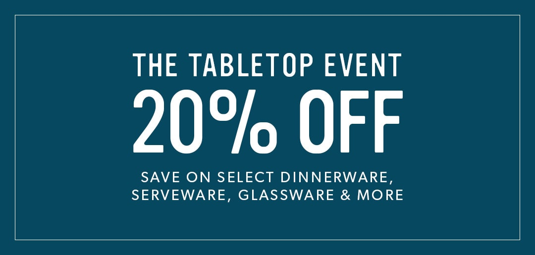 20% Off Tabletop Event