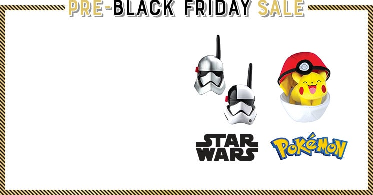 Pre Black Friday Pokémon and Star Wars
