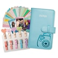 Colourful clothespins and accessories to showcase Instax Mini prints