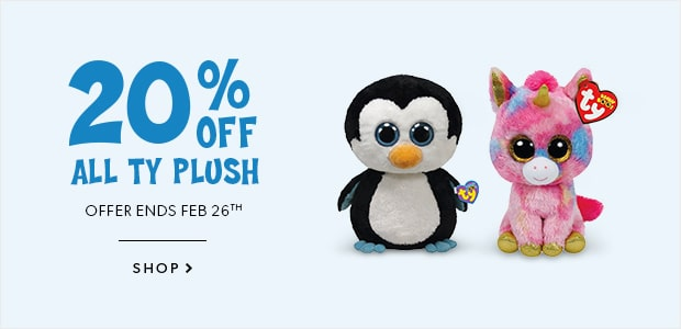 Shop TY plush now!