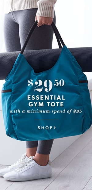 PWP Essential Gym Tote $29.50 When You Spend $35