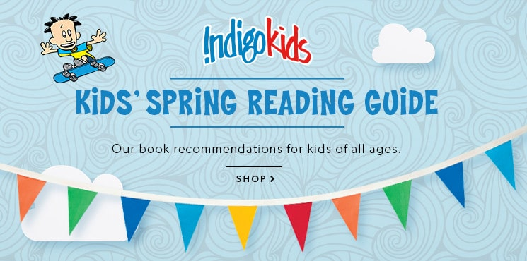 shop the kids' spring reading guide now