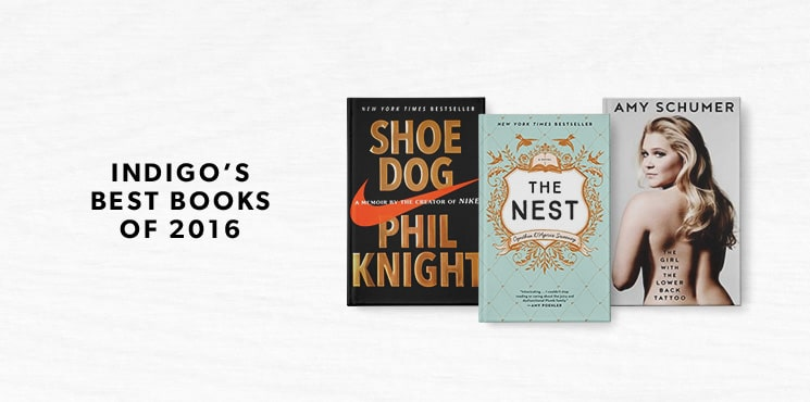 Indigo's best books of 2016