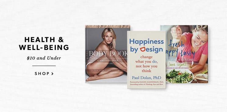 Health & Well-Being Books for $10 and Under