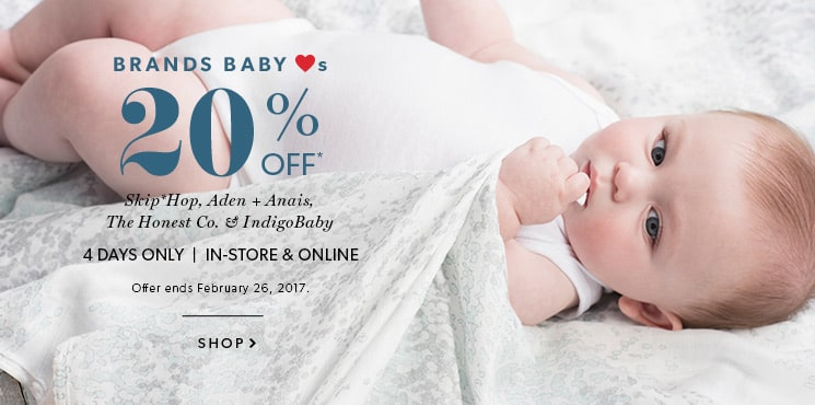 Shop Baby Brands now!