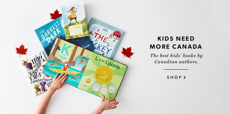 shop Canadian kids' books now!
