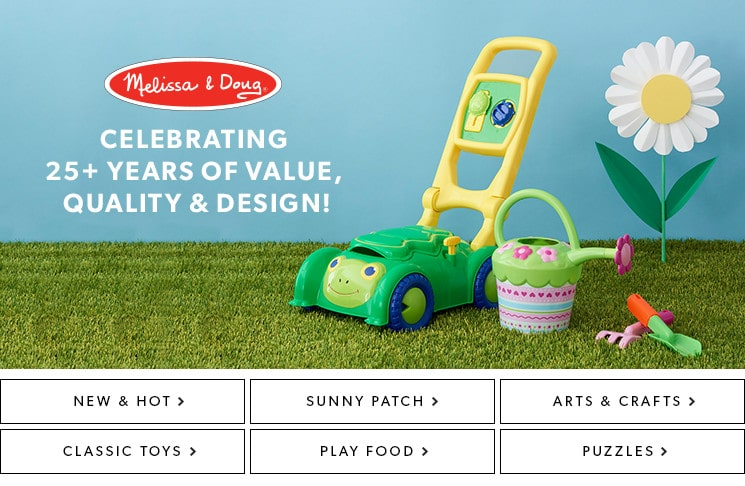 shop our assortment of Melissa & Doug toys now!