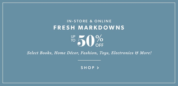 Fresh Markdowns