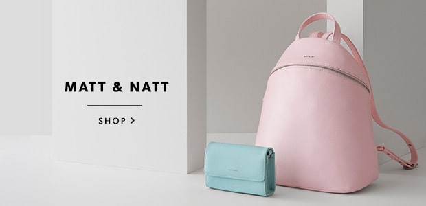 Shop Matt & Nat bags, backpacks, totes, wallets, and more!