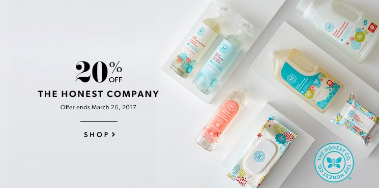 Shop the Honest Company now