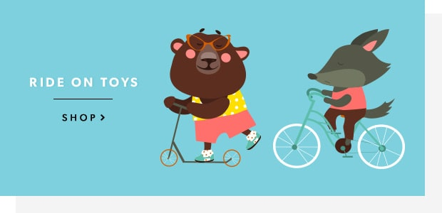 shop ride on toys now!