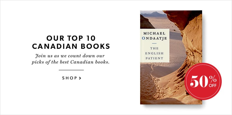 Our #9 pick for the best Canadian book is The English Patient by Michael Ondaatje!