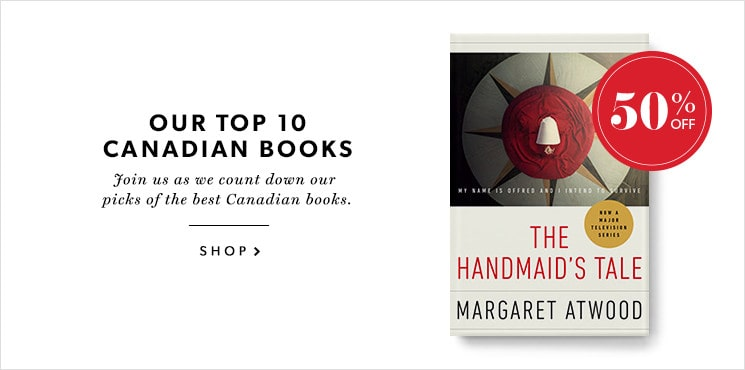 Our #6 pick for the best Canadian book is The Handmaid's Tale by Margaret Atwood!