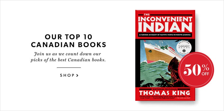 Our #3 pick for the best Canadian book is The Inconvenient Indian by Thomas King!