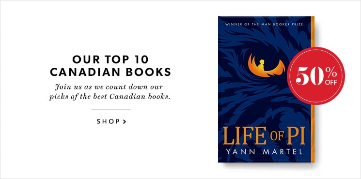 Our #7 pick for the best Canadian book is Life of Pi by Yann Martel!