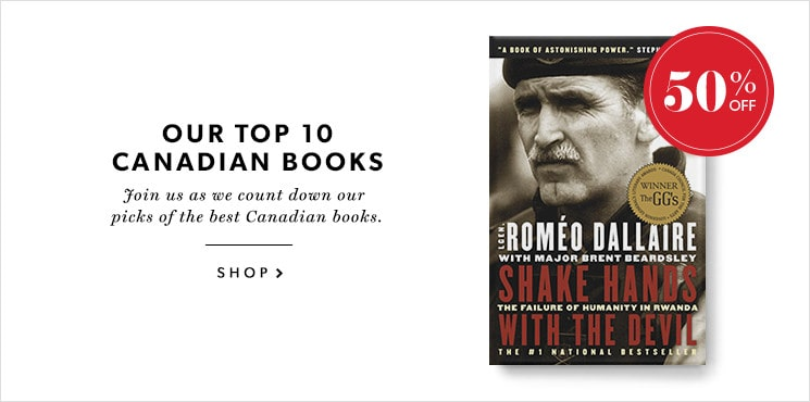 Our #8 pick for the best Canadian book is Shake Hands With The Devil by Romeo Dallaire!