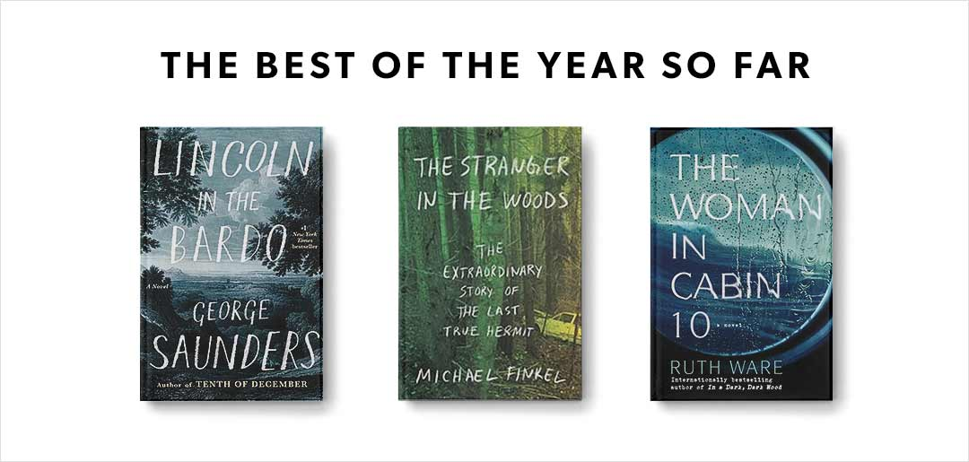 Find our picks of the best books of 2017 so far!