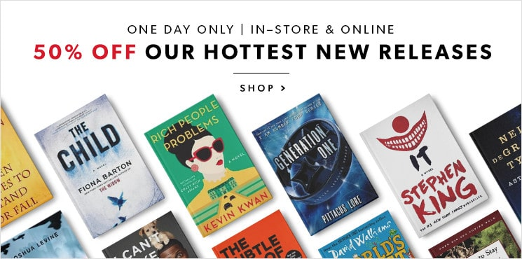 Get great deals on our hottest books