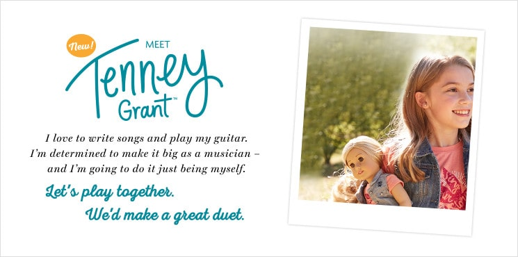 Shop Tenney Grant's Collection - She loves to write songs & play her guitar. She's determined to make it as a musician.