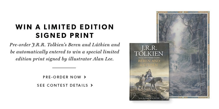 pre-order now for a chance to win an Alan Lee limited edition signed print