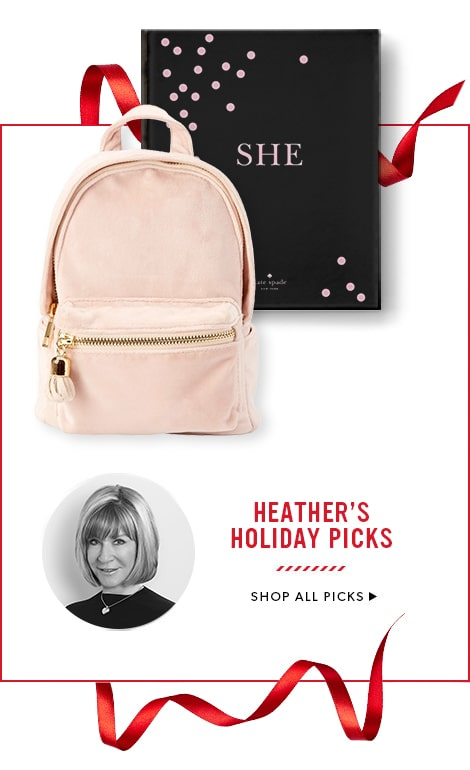 shop Heather's Picks for Holiday 2017