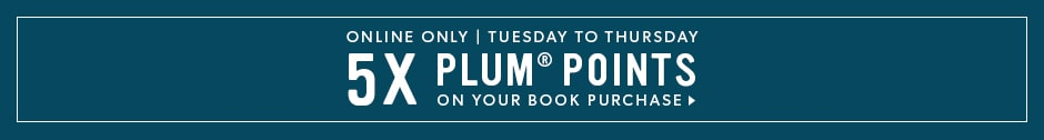 5x Plum Points on Books Online