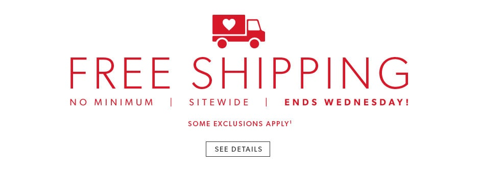 Free Shipping - No Minimum. some exclusions apply - see details