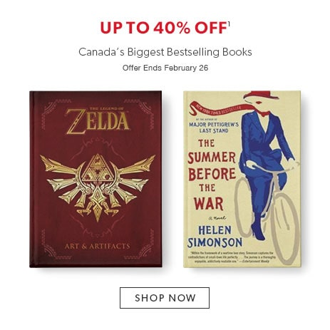 shop bestselling books - offer ends February 26, 2017