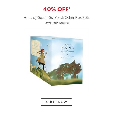 40% off Anne of Green Gables and other box sets