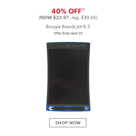 40% off Boogie Boards Jot 8.5