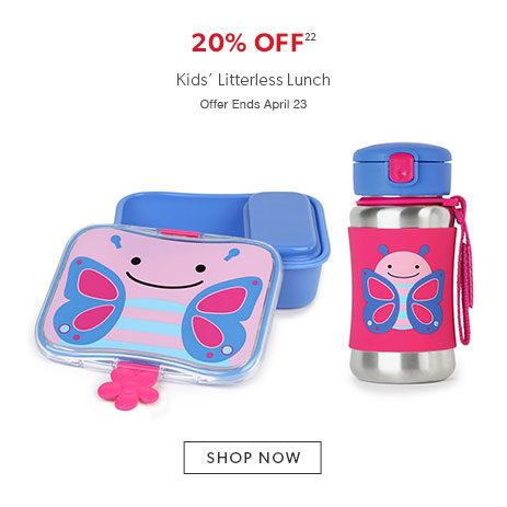 20% off litterless lunch